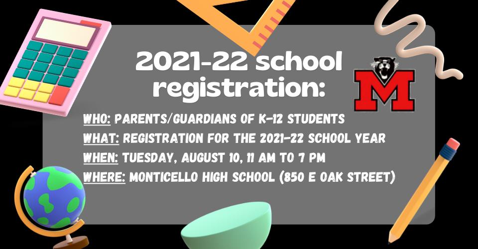 2021-22 school registration
