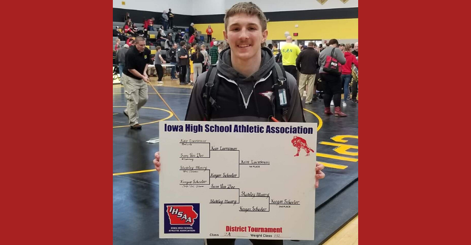 Kain Luensman District Champion