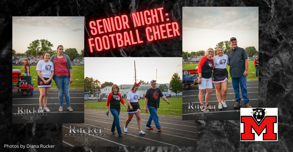 Football Cheer Senior Night