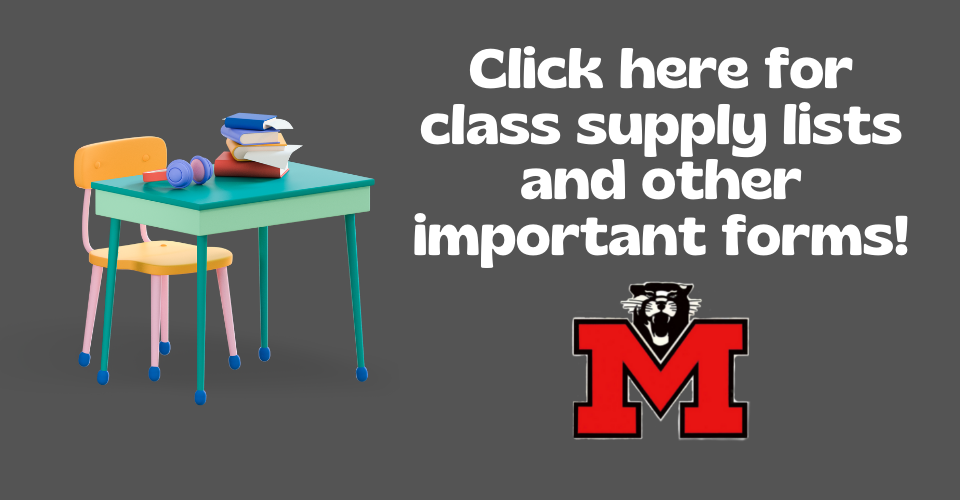 Click here for class supply lists and other important forms!