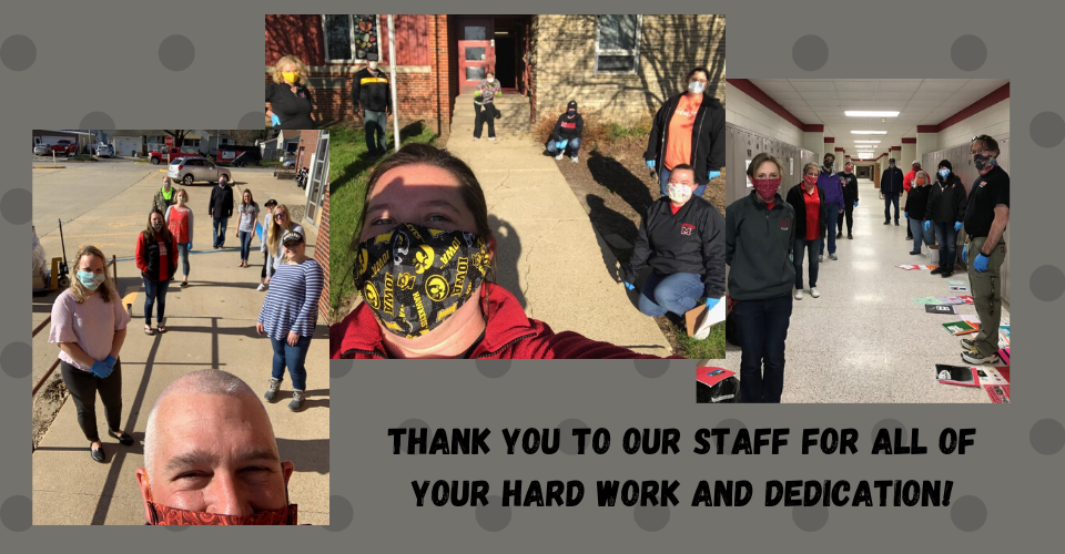 Thank you to our pick up crews!
