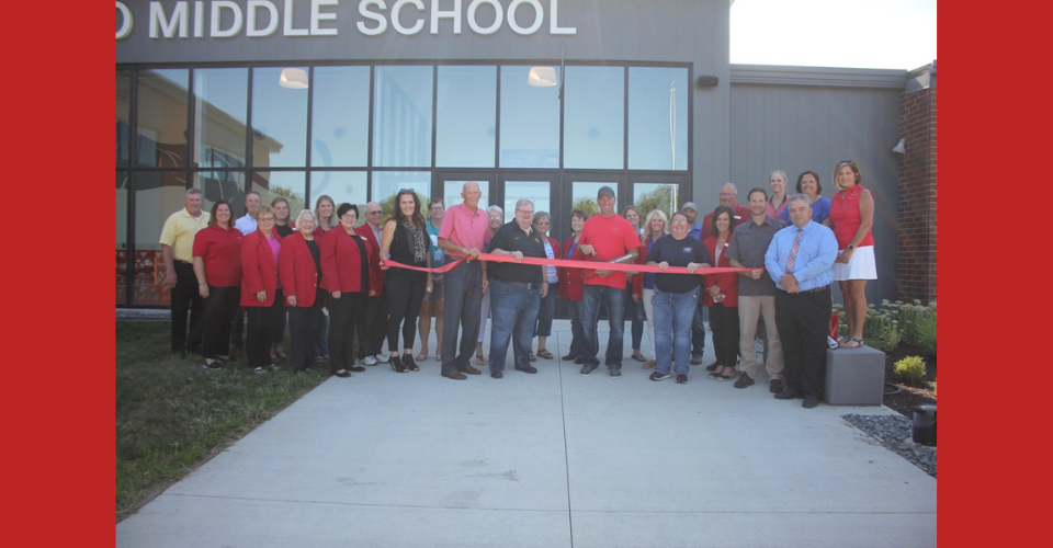 Middle School Ribbon Cutting Ceremony