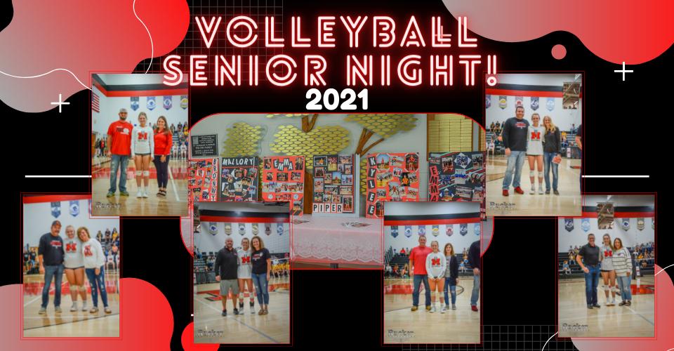 Volleyball Senior Night!