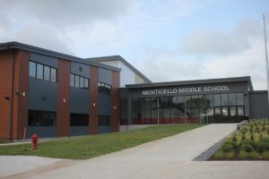 Middle School Entrance
